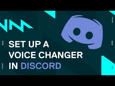 Discord Voice Changer Tutorial with Voicemod!