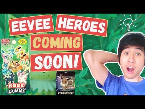 Eevee Heroes Inclusive Of Entire Eeveelutions VMAX! - Latest News |