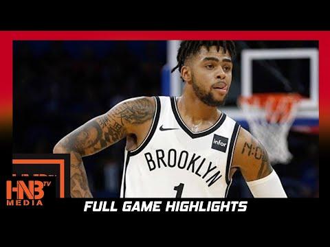 Brooklyn Nets vs Portland Trail Blazers 1st Qtr Highlights / Week 4 / 2017 NBA Season