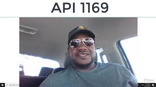 API 1169 Information American Petroleum Institute
