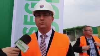 Ostro��ccy radni zwiedzili stacj� segregacji odpad�w