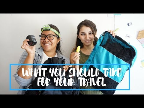 What You Should Take For Your Travel
