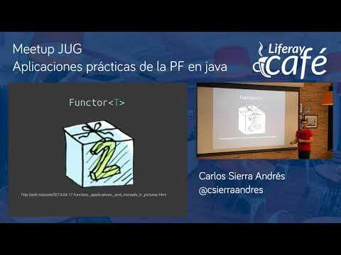 Meetup JUG - Desmitificando las lambdas con Carlos Sierra