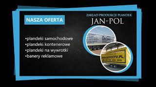 Plandeki samochodowe plandeki kontenerowe plandeki na wywrotki Świebodzice Jan Pol PW