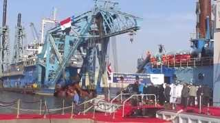 A Celebration of the start of a global dredgers International Alliance Channel Dredging