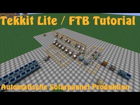 how to use solar panels tekkit