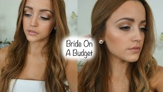 Drugstore Bridal Makeup Tutorial Using Affordable Brushes | Talk Through/ In-Depth
