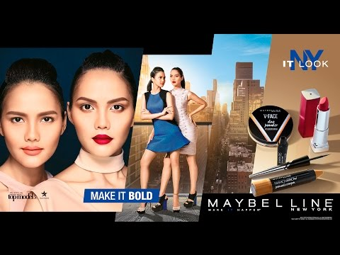TREND ALERT! Hottest Makeup Look from New York, Ready To #MakeItBold