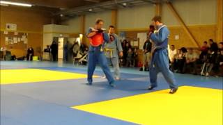 Vovinam Viet Vo Dao, Combat - 70 kg, Coupe Midi-Pyrénées 2014
