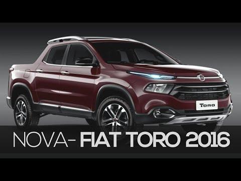 Picape Fiat Toro 2016 primeiras fotos