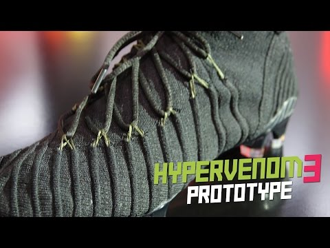 Great football boot prorotype from the Hypervenom III premiere Munich