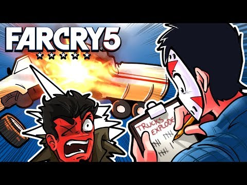 Far Cry 5 - The Curse of the Gas Truck! Ep. 6!