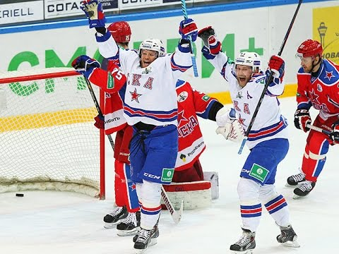 Петербургский СКА в 7м матче полуфинальной серии Кубка Гагарина  обыграл ЦСКА со счетом 3:2
