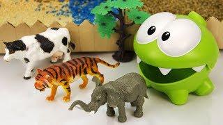 Мультик Приключения Ам Няма. Побег животных из зоопарка