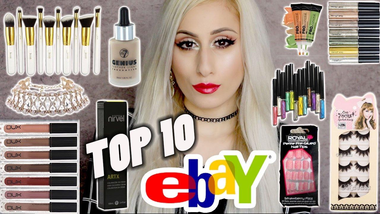 TOP 10 eBay MAKEUP & BEAUTY FINDS!