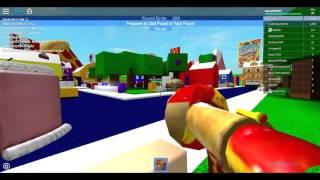 Jogando Food Fight no Roblox ft.Debelly Produçoes