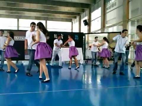 Apresentação de dança - Jailhouse Rock
