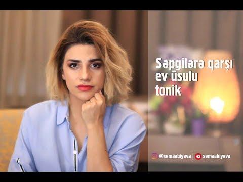 Səpgi Və Sızanaqlara Qarşı Ev üsulu Tonik
