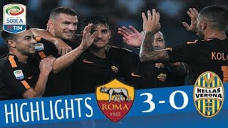 Roma - Hellas Verona 3-0 - Highlights - Giornata 4 - Serie A TIM 2017/18