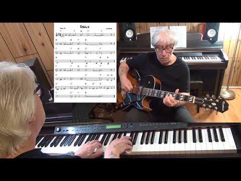 Rosalie Jazz Guitar & Piano Cover  Cole Porter