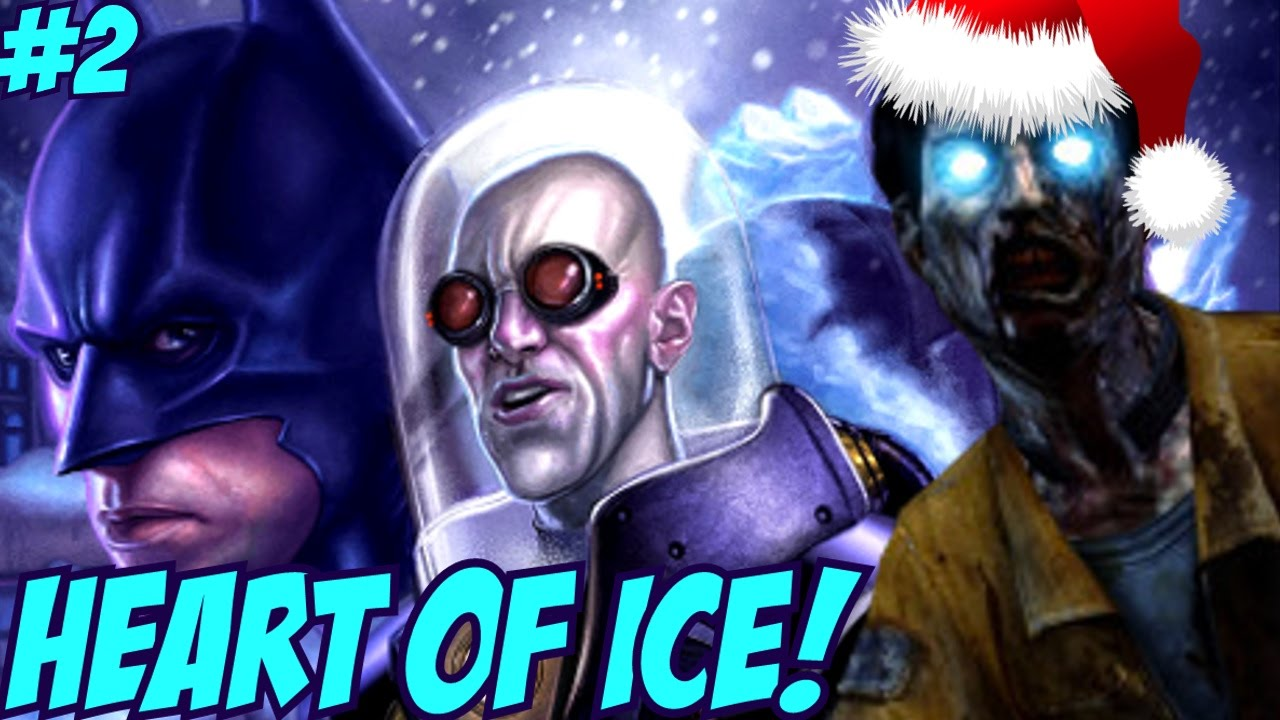 """BATMAN EASTER EGG & BUYABLE ENDING!"" – Custom Zombies ""HEART OF ICE"" FINALE!"