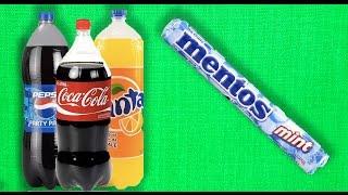 Hangi Gazlı İçecek Mentos'a Daha Fazla Tepki Veriyor?