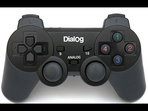 Обзор геймпада Dialog GP - A11 - Dual Shock 2 ТЫ ЛИ ЭТО?