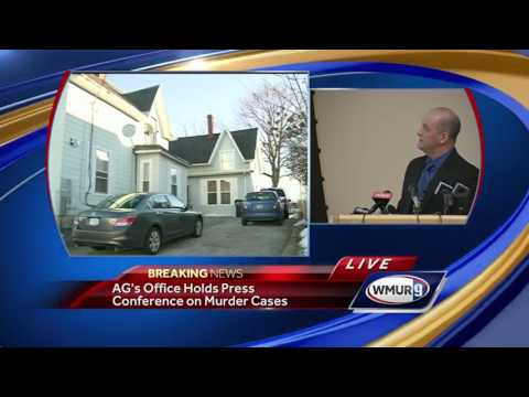 Raw video: Police say same man killed missing woman, Allenstown victims, California woman
