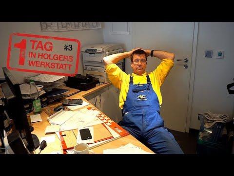 1 Tag in Holgers Werkstatt - Teil 3 | Ein einfacher Schließzylinder wird zum Arbeitszeitfresser