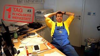 1 Tag in Holgers Werkstatt - Teil 3   Ein einfacher Schließzylinder wird zum Arbeitszeitfresser