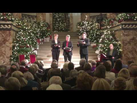 Gothic Voices, Holkham Hall, 3 Dec 2016, Resonet, Ther is no rose, Agnus dei