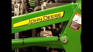 John Deere 3025 Engine Block Heater Install