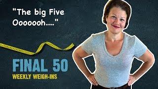 My Half-Century Birthday: Week 14 Weigh-In