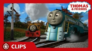 Connor Meets Bill and Ben | Clips | Thomas & Friends