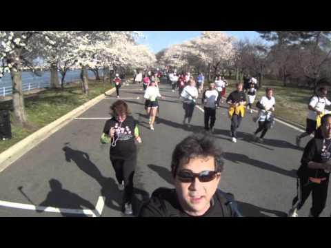 Back of the pack @ Cherry Blossom 10-Mile Run