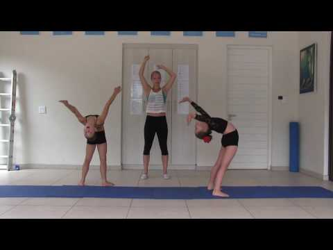 Beginner Acro Dance Year 1; Lesson 2
