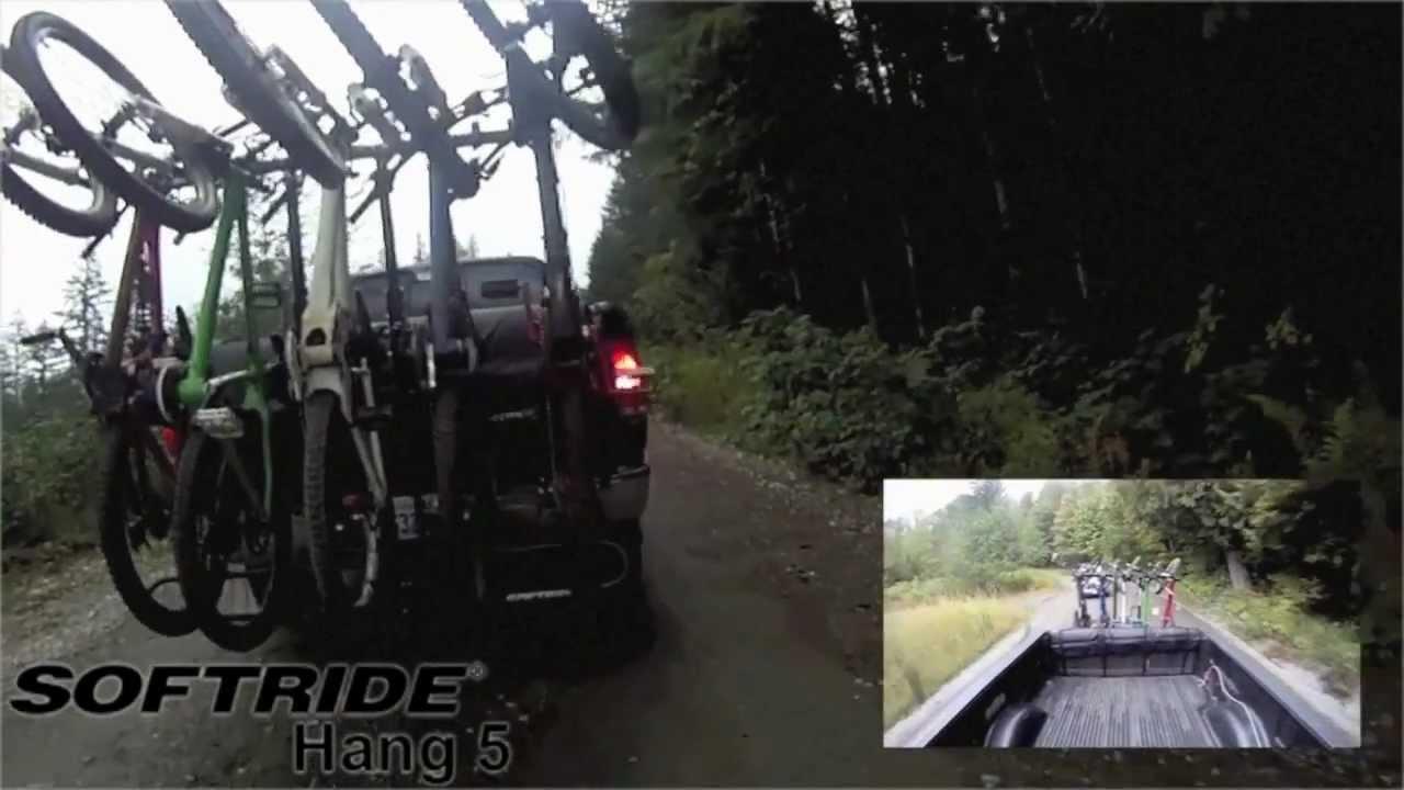 Hang5 Bike Rack Shuttling Action Softride Hang5 Hitch
