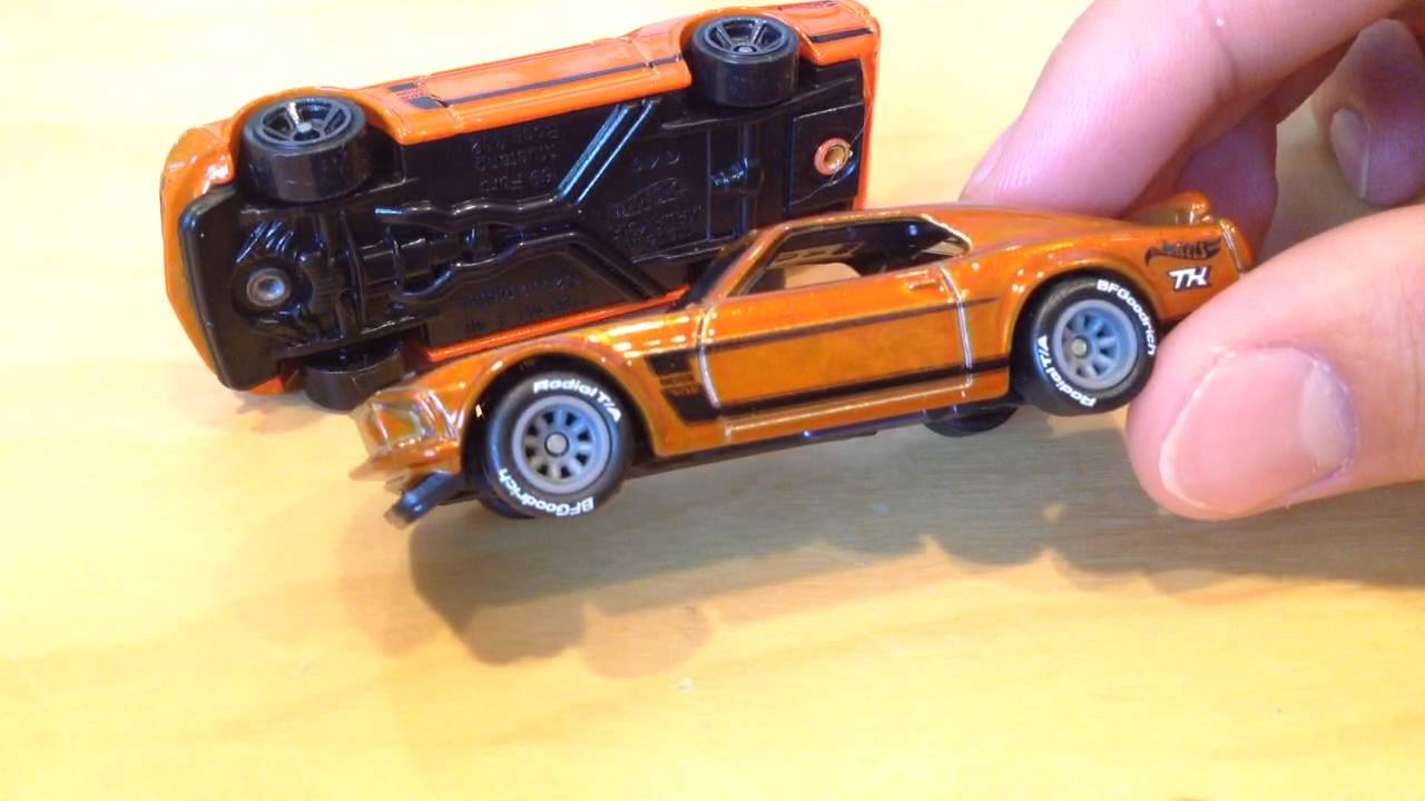 Hot wheels super treasure hunt 69 ford mustang boss 302 2015 e case th youtube