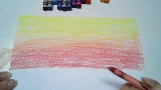 Blending Crayons - Sunset screenshot 2