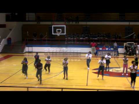 christian County high school step team 2011 pt1
