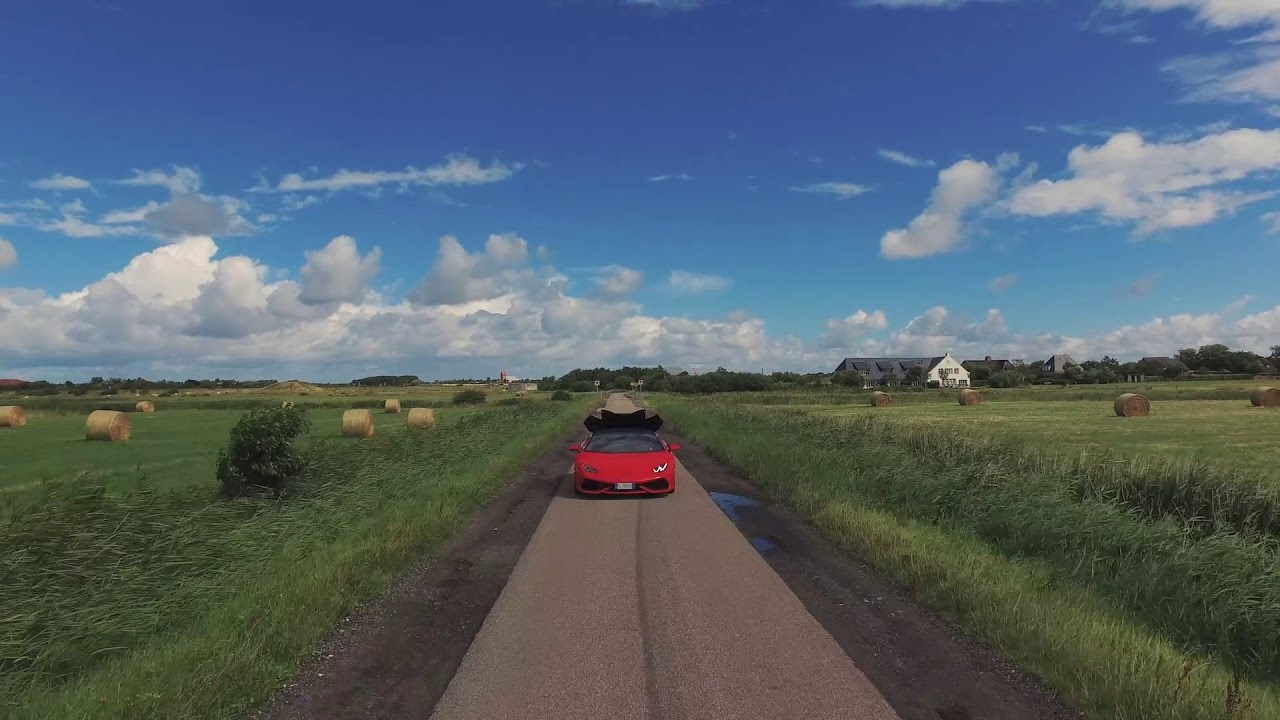 Lamborghini Huracán Spyder at the Island of Sylt