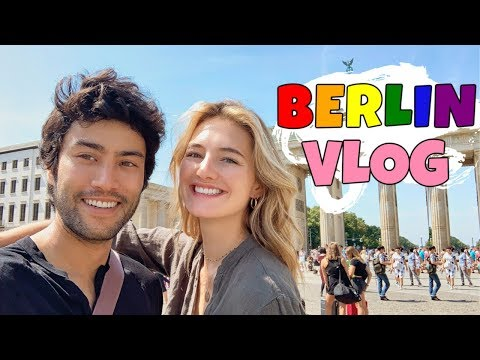Berlin Vlog - Summer In Europe | Celebrating Love & Taking My Boyfriend To Pride | Sanne Vloet