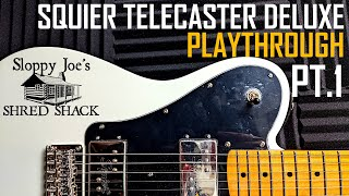 SQUIER CLASSIC VIBE 70'S TELECASTER DELUXE | PLAYTHROUGH | ALL POSITIONS, MULTIPLE TONES! | SJSS