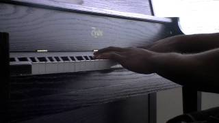 "Trey Songz  ""Jupiter Love"" (Official) piano cover"