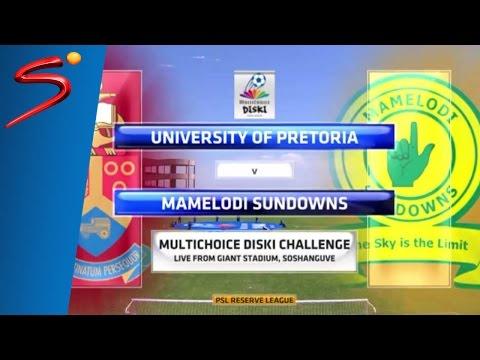 MultiChoice Diski Challenge 2015/16 Rd 8: University of Pretoria 0-1 Sundowns