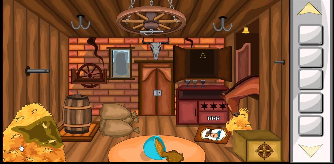 Escape game cowboy house game level 2 walkthrough youtube for Minimalistic house escape 5 walkthrough