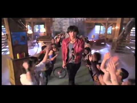Joe Jonas, Nick Jonas, Kevin Jonas - Heart and Soul(Movie Scene) Camp Rock 2 The Final Jam