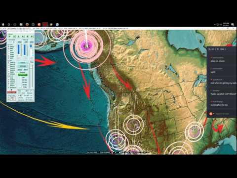 5/01/2017 -- Nightly Earthquake Update + Forecast -- Major activity spreading -- West Coast Watch