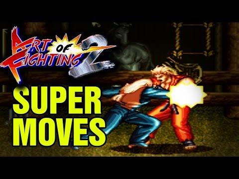 Art Of Fighting 2 Super Desperation Moves SNES Super Nintendo Ryuuko No Ken Famicon
