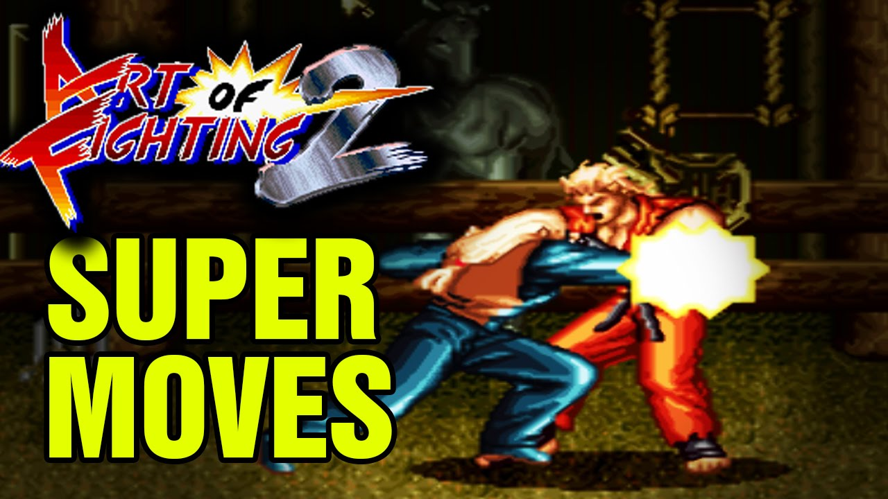 Art Of Fighting 2 Super Desperation Moves Snes Super Nintendo